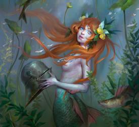 Mermaid by KueshkaArt