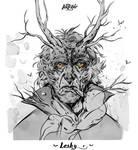 Leshy (Slavic Mythology) by KueshkaArt