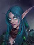 Velisryn Darkscythe (commission work)