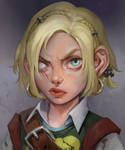 Gnome Rogue Raes (commission work)