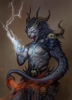 Stormfang the Chaos Cultist of Tzeentch