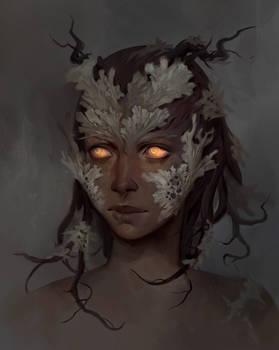 Lichen Dryad