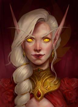 Blood Elf Olinea (commission)