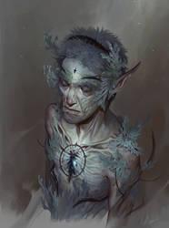 Lichen Old Man by KueshkaArt