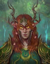 Alilah Whitefeather - Night Elf Druid