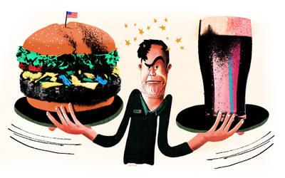 Beer or Burger by seanmetcalf