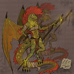 Dragon Woman Adopt (OPEN) by DRIFTIMP