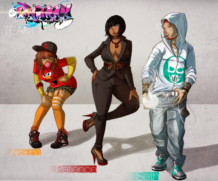 Snoppy Team no.1 by H-Boogie