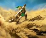 Link VS Geldman -Zelda Relived
