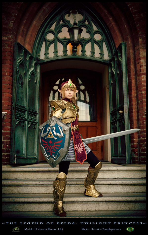 Defending Hyrule -Link Cosplay by LiKovacs