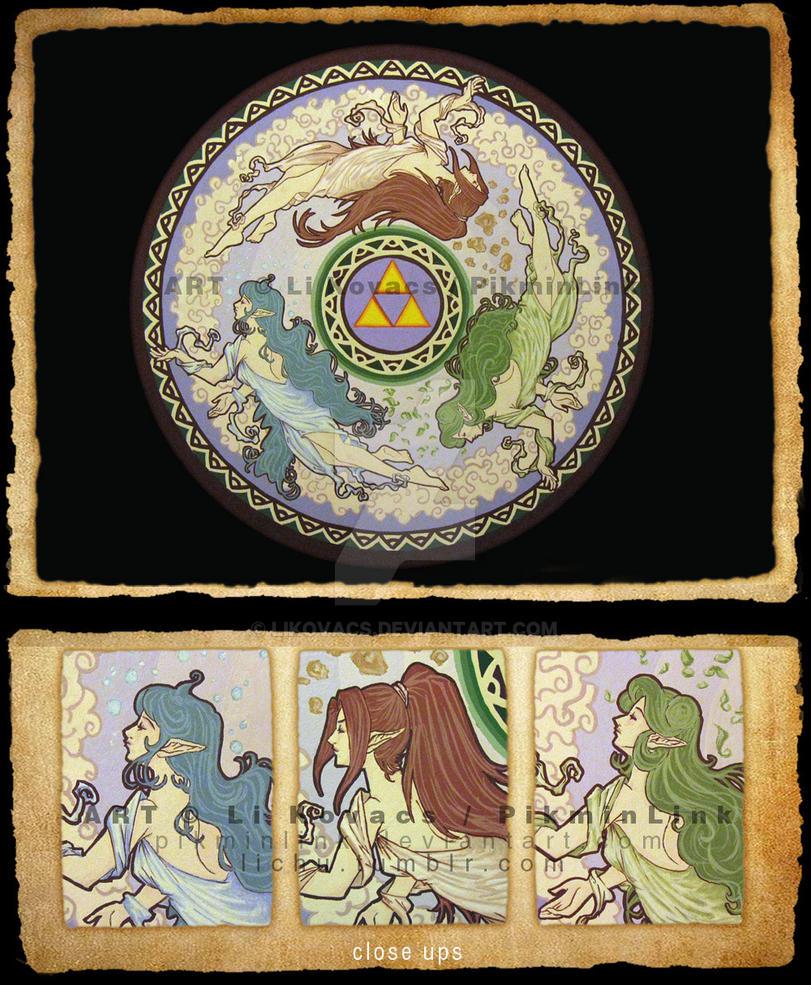 Zelda 25th Anniversary by LiKovacs