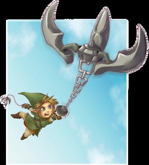 Double Clawshot - Zelda Collab