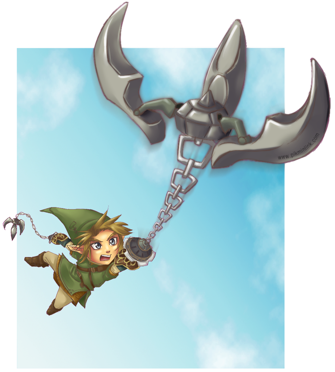 Double Clawshot - Zelda Collab by LiKovacs