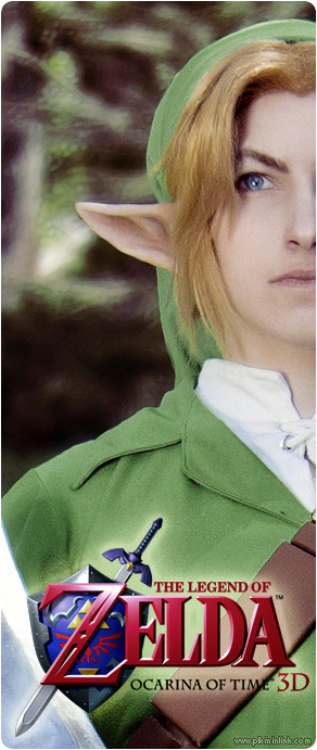 The Hero of Time - Link Cosplay by pikminlink