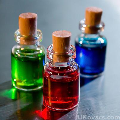 Zelda Potion Bottles by LiKovacs