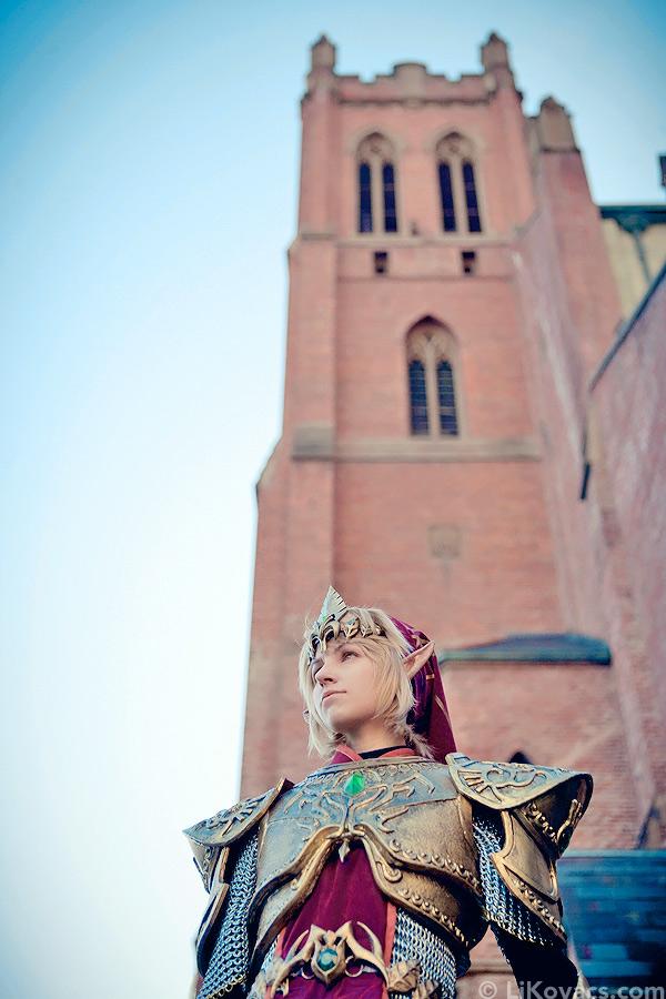 Link Magic Armor - Twilight Princess by LiKovacs
