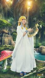 Goddess Zelda - Faron Woods by LiKovacs