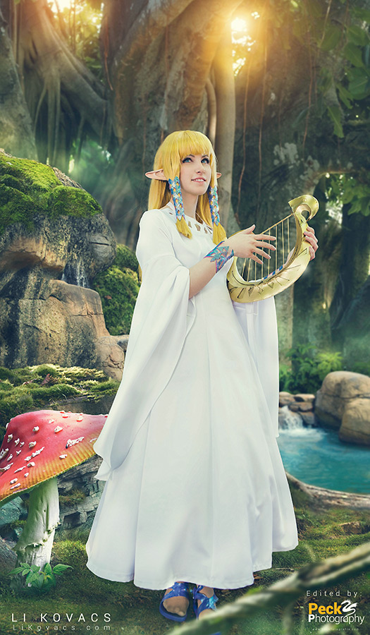 Goddess Zelda Faron Woods By Likovacs On Deviantart