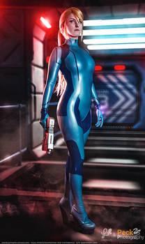 Zero Suit Samus Aran - Metroid Cosplay