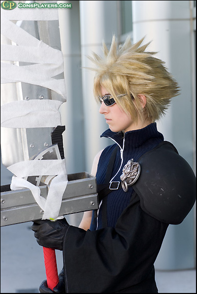 Cloud Strife -Advent Children by LiKovacs