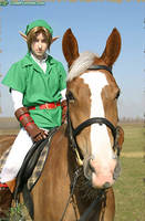 Link and Epona by LiKovacs