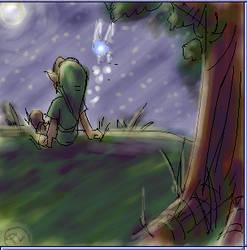 Under the stars - Oekaki Art