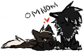 Dirzurra Loves Tails... by VenomXic