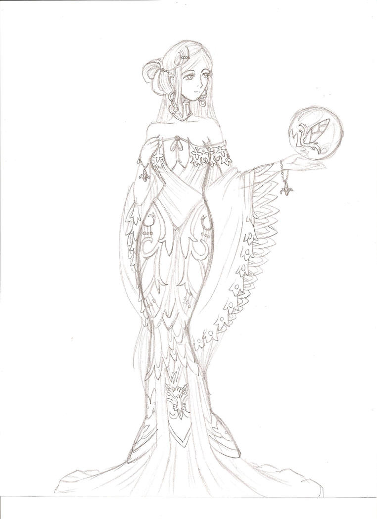 demeter greek goddess drawing - photo #12
