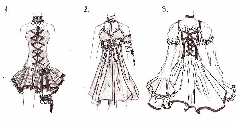 clothes designs by xmidnight dream13x on deviantart
