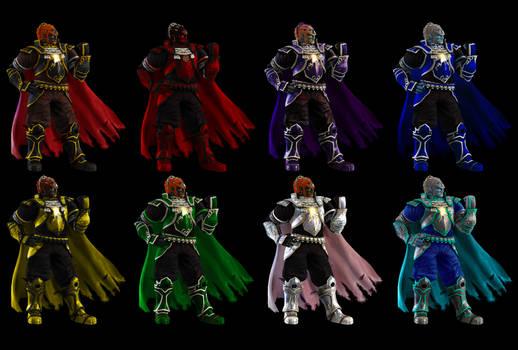 New Ganondorf colors