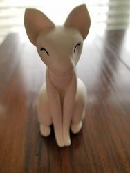 Kitty Sculpture