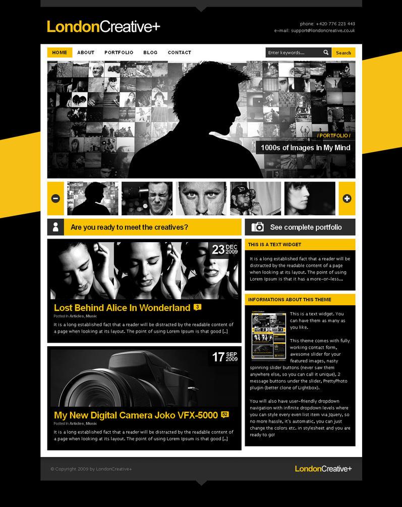 London Wordpress theme by bestofthemeforest