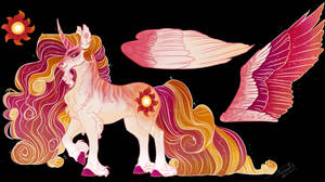 MLP NG: Star AU- Celestia, the Princess of the Sun
