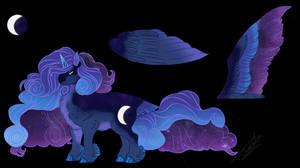 MLP NG: Star AU- Luna, the Princess of the Moon