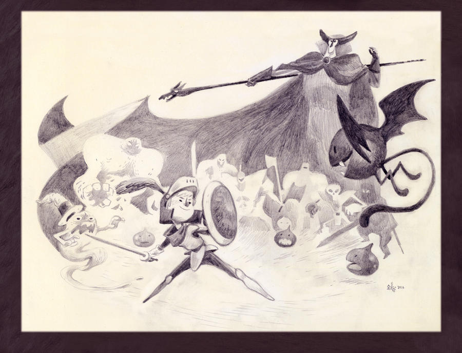 Dragon Quest by AnthonyHolden
