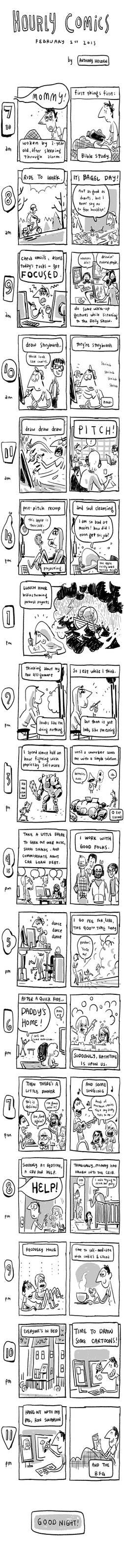 Hourly Comics Day!