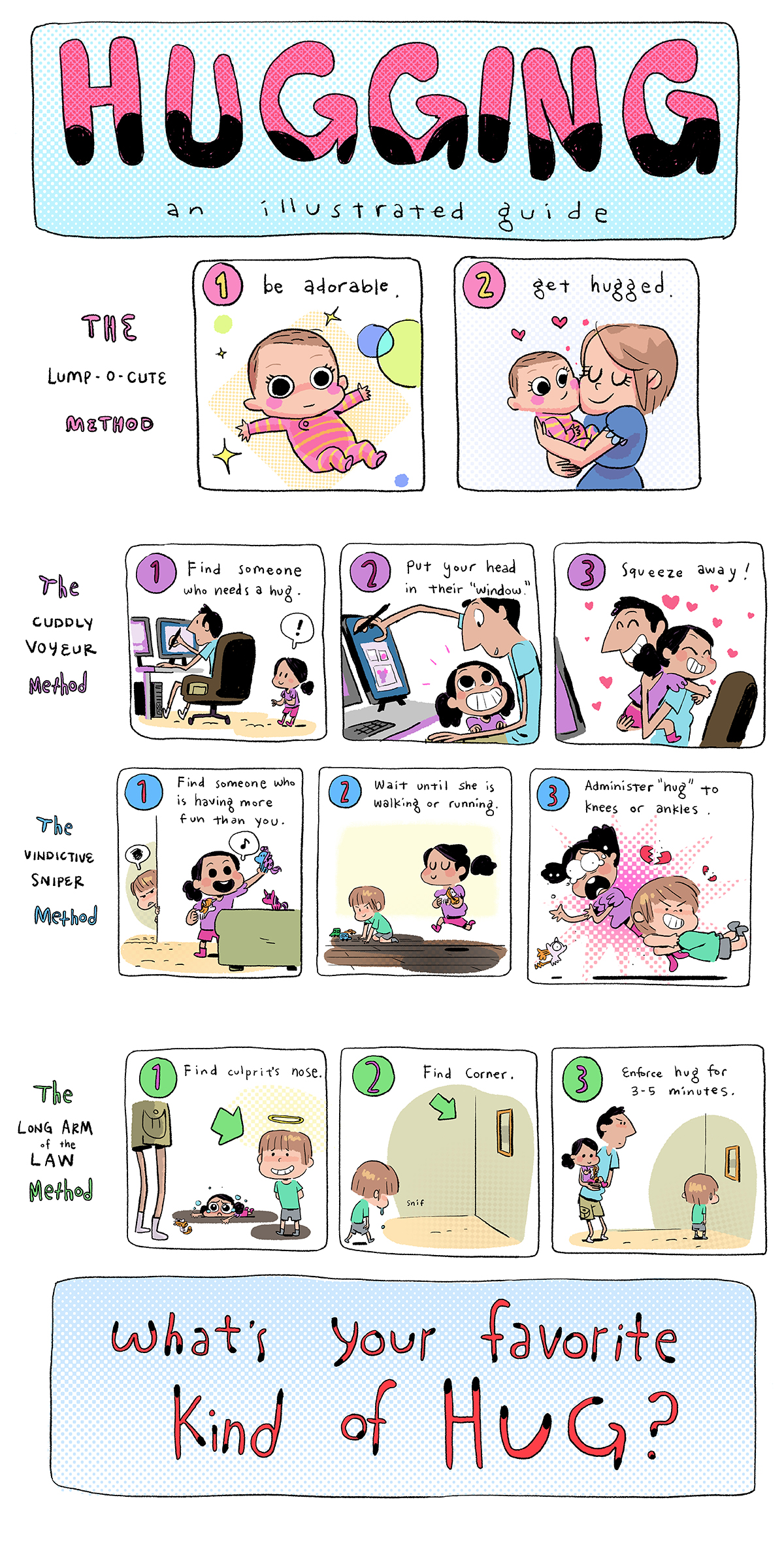HUGGING: An Illustrated Guide by AnthonyHolden