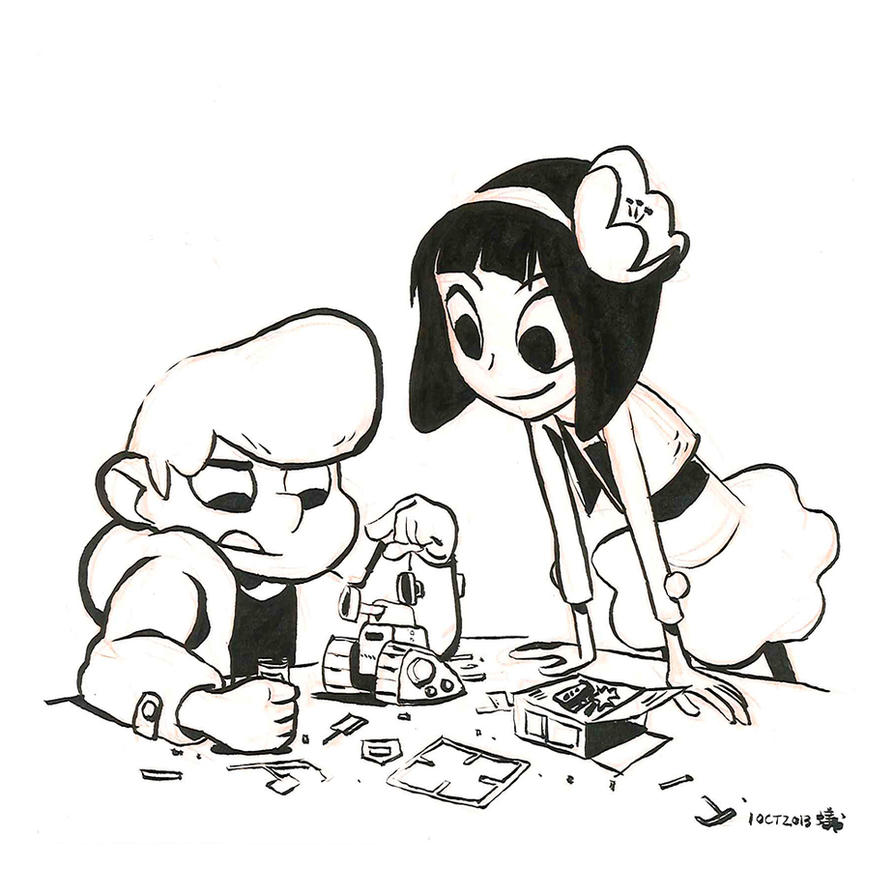 Inktober First! by AnthonyHolden