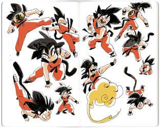 Son Goku by AnthonyHolden