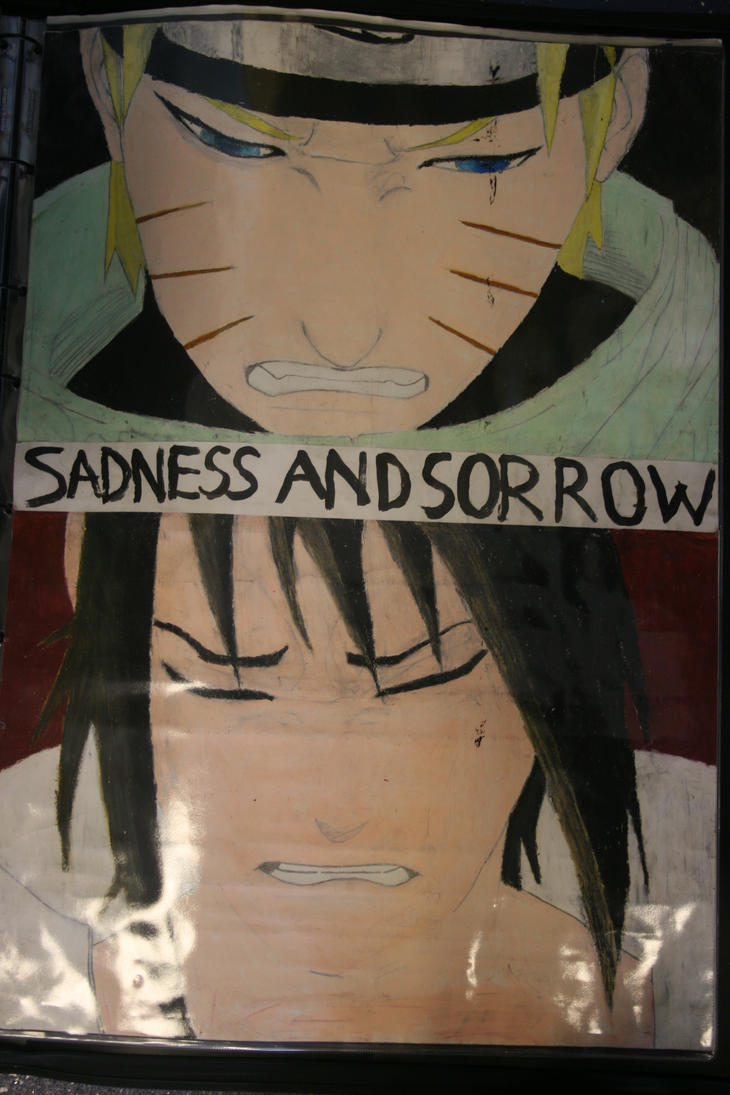 naruto: sadness and sorrow by mangartcomic on DeviantArt