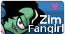 Zim Fangirl Stamp by LylatInvader