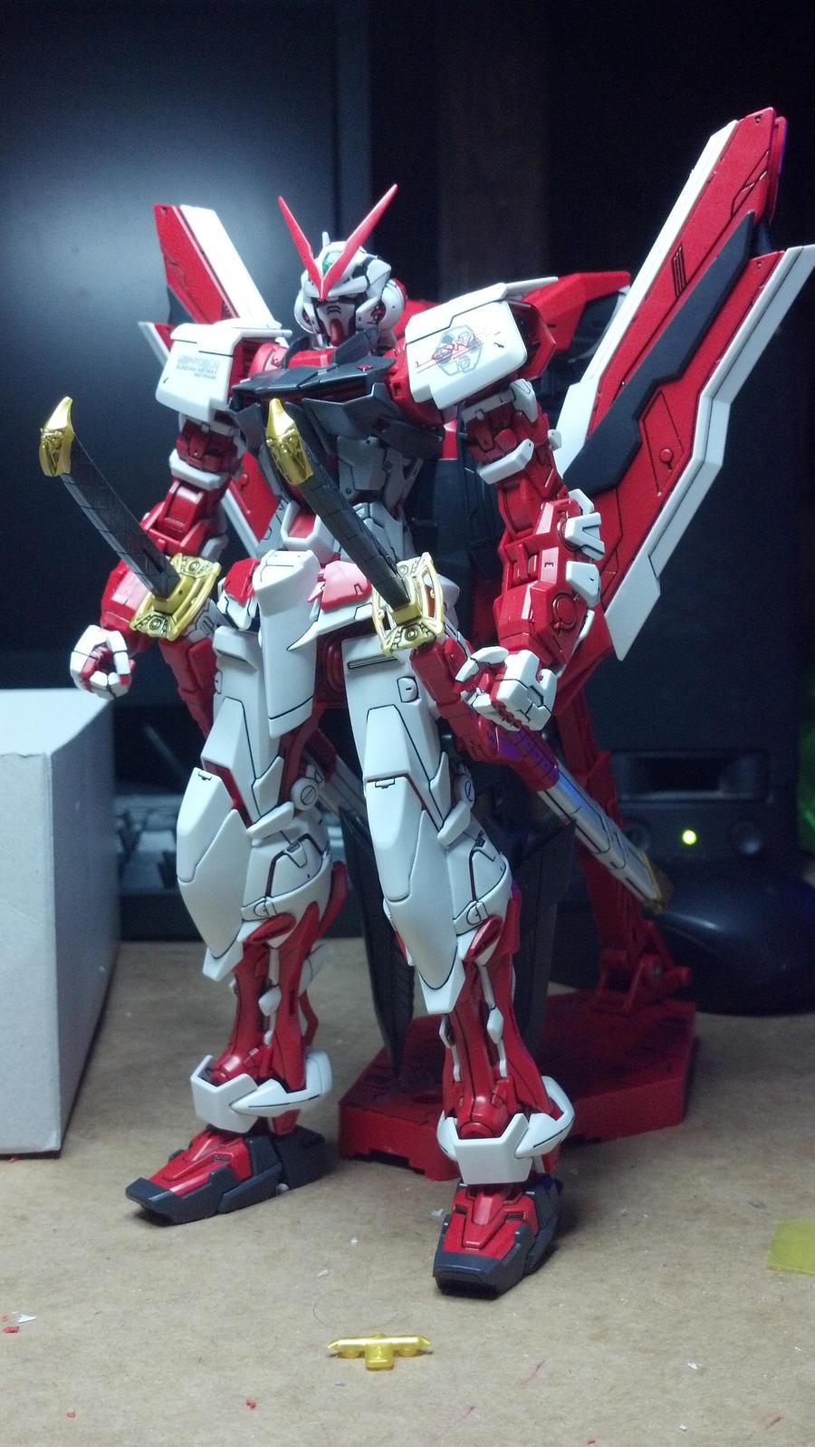 MBF-P02 Astray Red Frame Kai MG by GeneralMechanics
