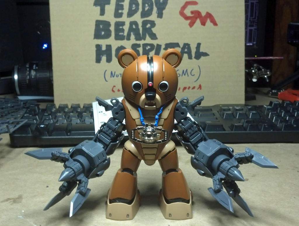 Bear Arms Free Hugs by GeneralMechanics