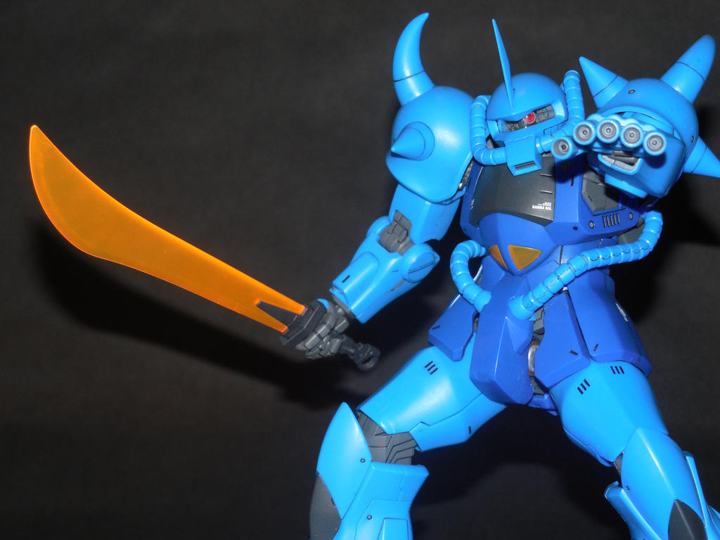 MS-07B Gouf -Version 2.0- by GeneralMechanics
