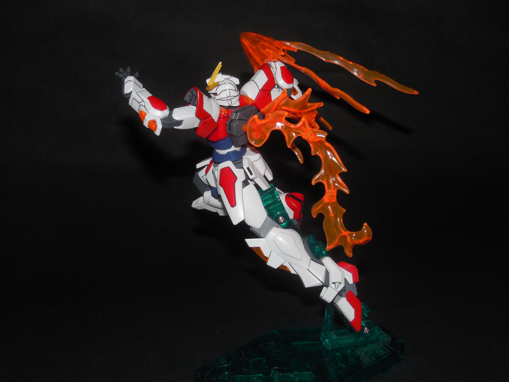 Build Burning Gundam by GeneralMechanics
