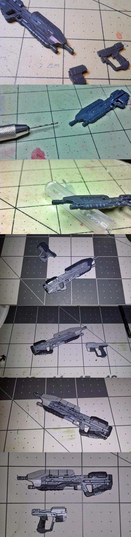 Sprukits Master Chief Weapon Building by GeneralMechanics