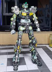 Nu Gundam - Clear Color Frame
