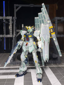 Nu Gundam - Clear Fin Funnels