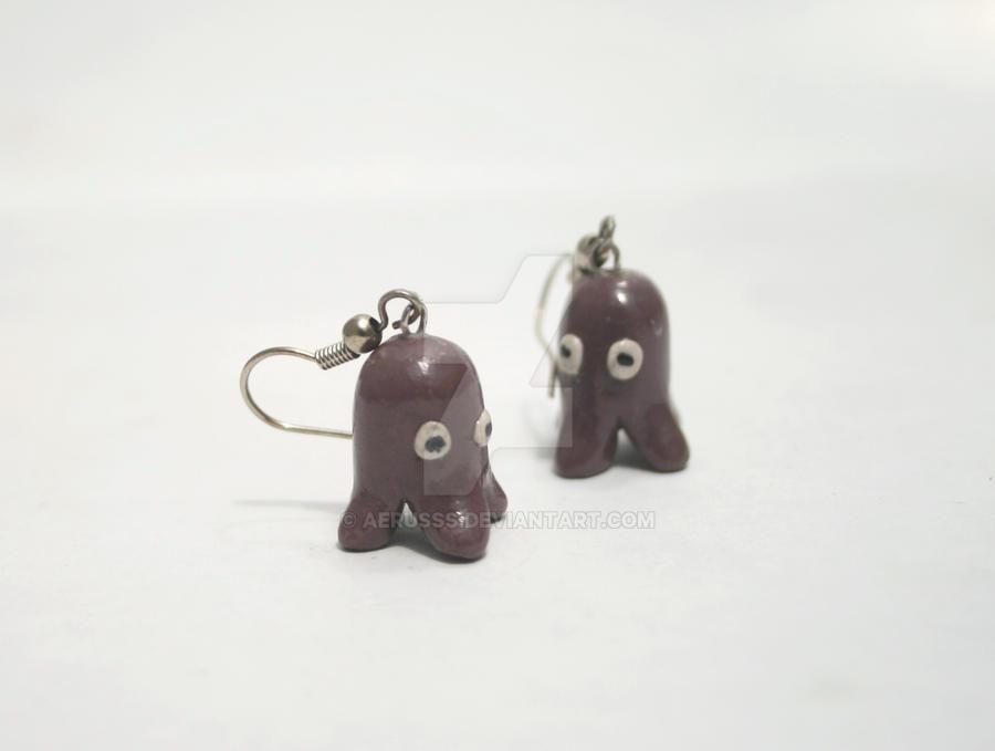 tako earrings by Aerusss