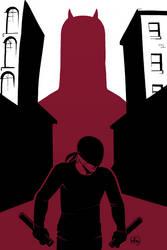 Daredevil (Colour) by figlesiase